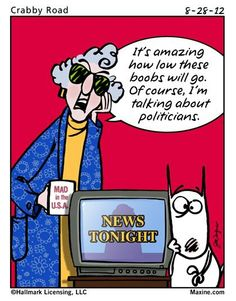Love Maxine's take on things! Lol