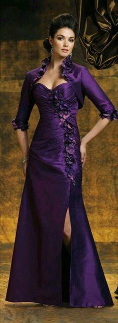 5c34719523 Pretty Woman   Beautiful Fashion - Community - Google+ Purple Wedding Gown