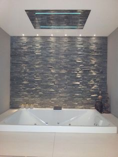 wall in an open plan shower room or spa bathroom - Google Search