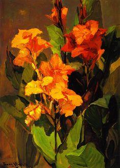 The Athenaeum - Canna Lilies (Franz Bischoff - )