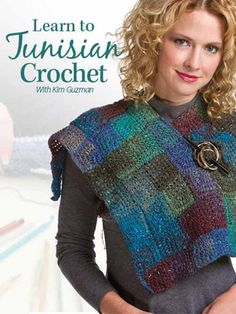 Check out our Tunisian Crochet books on our new website! http://www.maggiescrochet.com/products/learn-to-tunisian-crochet-class-dvd