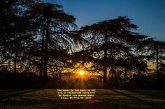 Photograph - Sunrise And Scripture by Joseph S Giacalone. #scripture #spiritual #photoprint #buyart
