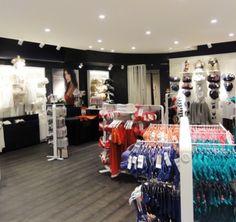 Rouge Gorge | Lunoo How To Attract Customers, Lighting Design, Retail, Light Design, Retail Merchandising
