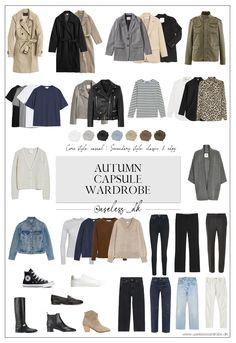 Fall Capsule Wardrobe, Capsule Outfits, Winter Wardrobe, Fall Outfits, Capsule Clothing, Stylish Outfits For Women Over 50, Clothes For Women, Fall Clothes, Minimalist Wardrobe