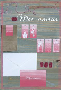 Lovely (and free) ombre tags download