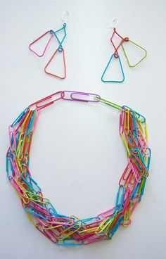 Paper Clip Jewelry fun for kids and grown ups by janedowning, $22.00