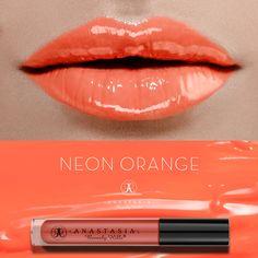 Neon Orange on the lips. #LipGloss #AnastasiaBeverlyHills