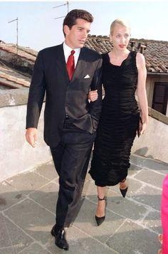 Carolyn Bessette Kennedy and John