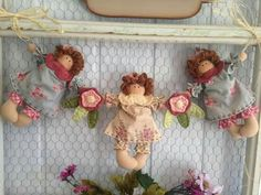 Christmas Sewing, Christmas Crafts, Cute Crafts, Diy And Crafts, Fabric Dolls, Beautiful Christmas, Softies, Doll Patterns, Holidays And Events