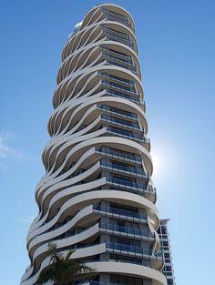 Wave Building, Gold Coast, Australia.