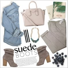 Style Staple: Suede Boots by teoecar on Polyvore featuring moda, Paul & Joe, Chinese Laundry, Givenchy, Coach, Mark's Tokyo Edge, Envi and suede