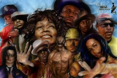 Hip Hop Art ( Died in your Arms) (By BM Graphics)