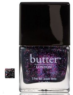 Butter London 3 Free Lacquer - The Black Knight...love this!!