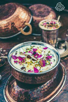 Kesari Rice Kheer – Saffron Rose flavoured Rice Pudding