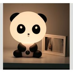 Panda bordlampe