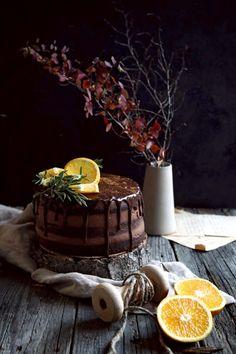 Pomarančová Torta s Čokoládovým Krémom – Stvory z kuchyne