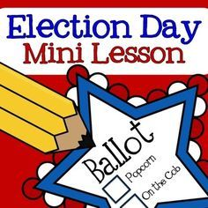 This is a simple Election Day activity to use with your class.It includes a voter registration card, voting ballot, and an activity sheet to support the mini lesson. 3rd Grade Social Studies, Social Studies Activities, Teaching Social Studies, Student Teaching, Kindergarten Social Studies Lessons, Primary Teaching, Teaching Tips, Study History, History Education