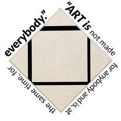 Piet Mondrian: Composition No. 1 - Lozenge with Four Lines