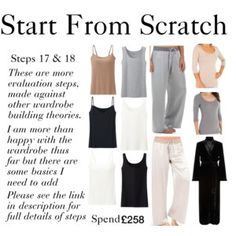 Start From Scratch - Steps 17 & 18