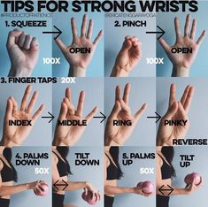 Important to have strong wrists for yoga.