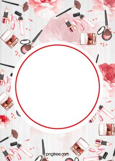 tarjeta diseño graphic arte antecedentes Red Background Images, Beauty Background, Paint Background, Pink Watercolor, Watercolour Painting, Makeup Backgrounds, Makeup Wallpapers, Frame Floral, Makeup Poster