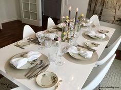 میز شام دوستانه با تم بهاری – وبلاگ ويدا