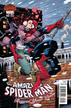Renew your Vows series of Spider-man