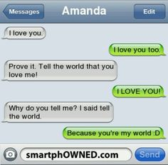 The 13 Most Adorably Cute Relationship Texts - Autocorrect Fails and Funny Text Messages - SmartphOWNED Funny Texts Jokes, Text Jokes, Funny Period Memes, Period Humor, Cute Relationship Texts, Cute Relationships, Cute Quotes, Funny Quotes, Motivational Memes