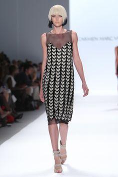 Carmen Marc Valvo RTW Spring 2014 - Slideshow - Runway, Fashion Week, Reviews and Slideshows - WWD.com