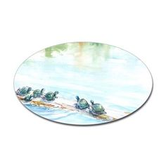 Turtle Family Decal