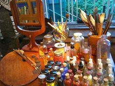 Inside Frida Kahlo's Art Studio, Mexico City