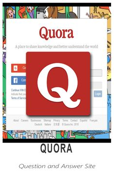 Quora - Use to establish your knowledge; Also used for marketing strategies Question And Answer, This Or That Questions, Great Apps, Marketing Strategies, Virtual Assistant, Terms Of Service, Digital Marketing, Knowledge, Learning