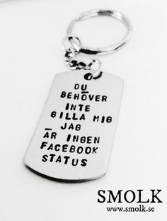 Welcome to SMOLK -Handstamped jewelry with a twist Sassy Quotes, Funny Quotes, Cool Words, Wise Words, Atticus Quotes, Best Qoutes, Love Me More, Facebook Status, Hand Stamped Jewelry