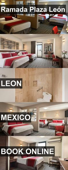 Hotel Ramada Plaza León in Leon, Mexico. For more information, photos, reviews and best prices please follow the link. #Mexico #Leon #travel #vacation #hotel
