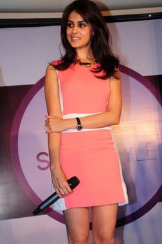 Genelia D'souza @ the Myntra Star N Style event in Hyderabad
