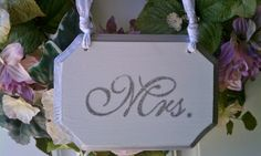 SILVER Wedding Signs SPARKLE Mr. & Mrs Chair Signs Perfect for your WINTER Wonderland Wedding, Fairytale Wedding, Old Hollywood Wedding on Etsy, $38.72 CAD