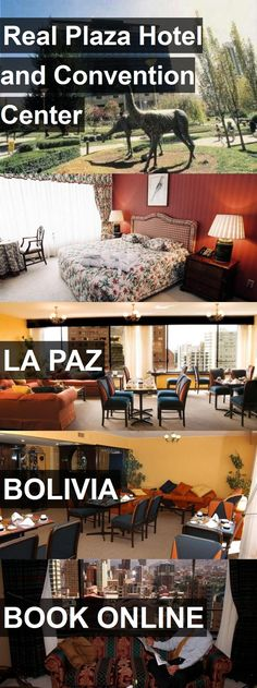 Real Plaza Hotel and Convention Center in La Paz, Bolivia. For more information, photos, reviews and best prices please follow the link. #Bolivia #LaPaz #travel #vacation #hotel