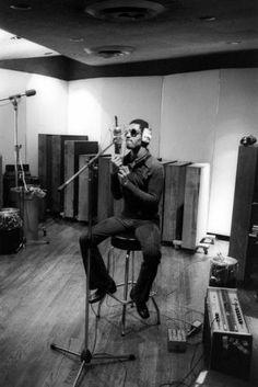 Stevie Wonder in the Studio 1972 recording the album 'Talking Book'.
