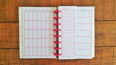 Printed Discbound Calendar / Monthly Weekly Daily by JanesAgenda