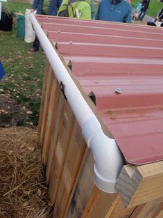 Gutter Pvc Half Round Is So Much Prettier Than The Old