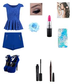 """Marie"" by leoniefabbro ❤ liked on Polyvore featuring interior, interiors, interior design, home, home decor, interior decorating, Zara, Smashbox, Marc Jacobs and MAC Cosmetics"