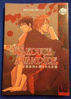 ** SOLD ** How to Seduce a Vampire (Yaoi) by Nimosaku Shimada in Collectibles, Comics, Manga   eBay