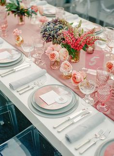 Flowerwild Creative Direction - The ARK collection  Tabletop- Twine Events Planning - Corbin Gurkin Photography