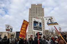 Some 200 rallies protesting the Dakota Access oil pipeline are slated Tuesday across the United States, at such locations as Army Corps of Engineers offices, federal buildings and banks that have helped finance the project.