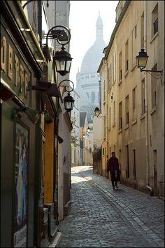 Morning View to Basilique du Sacre-Coeur by Stas Porter, via Flickr