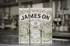 Jameson Whiskey – The Deconstructed Series packaging by Pond Design