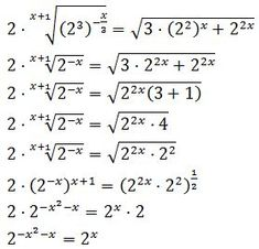 Resolved Exponential Equations: Properties of powers and roots Mathematical Logic, Mathematics Geometry, Physics And Mathematics, Algebra Formulas, Logic Math, Ged Math, Math Answers, College Math, Math Vocabulary