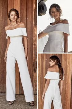 Shopping for trendy wedding dresses 2020 can be one of the most exciting aspects of planning a wedding. Check out these trendy bridal gowns from the top designers for Wedding Rehearsal Dress, Wedding Pants, Summer Wedding Outfits, Boho Wedding Dress, Wedding Party Dresses, Trendy Wedding, Wedding Hijab, Wedding Rompers, Wedding Jumpsuit