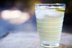 Homemade Ginger Ale ~ Easy homemade ginger ale, with grated ginger, simple syrup, lime and club soda.