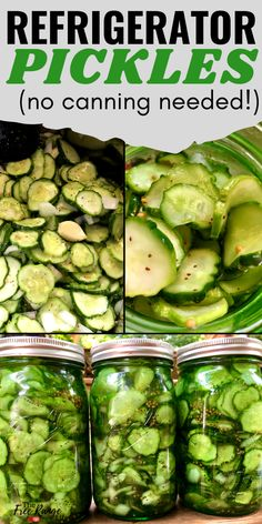 Veggie Recipes, Dog Food Recipes, Cooking Recipes, Pureed Recipes, Refrigerator Pickle Recipes, Home Canning Recipes, Dinner Recipes, Canning Tips, Bread & Butter Pickles
